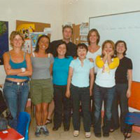 Students at classroom