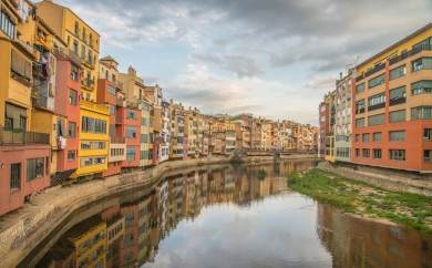 Typical View of Girona