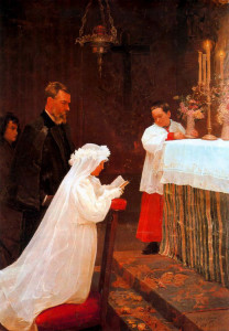 """""""FIRST COMMUNION"""" by Picasso"""