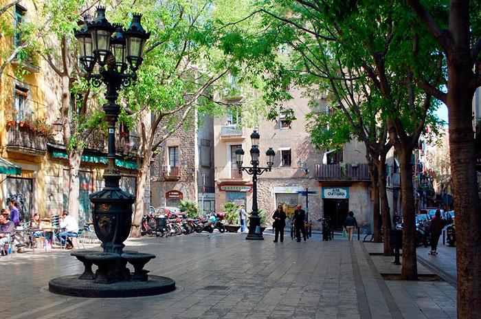 Plaza Sant Agustí Vell