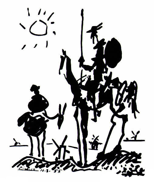 Quiijote by Picasso